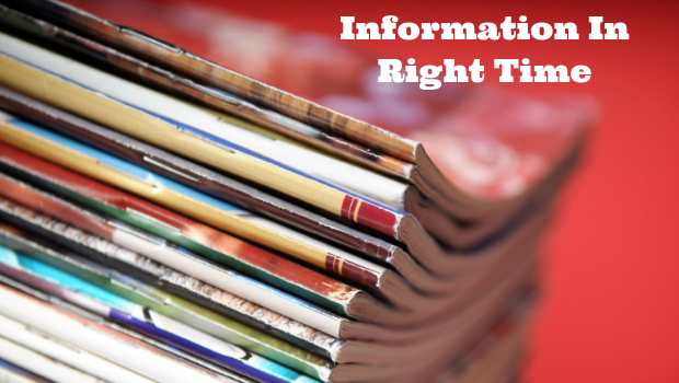 Information In Right Time